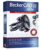 Becker CAD 12 3D PRO - sophisticated 2D and 3D CAD software for professionals - for 3 PCs - 100% compatible with AutoCAD - Windows 10, 8.1, 7