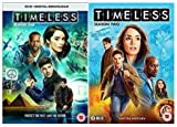 Timeless Season 1-2 [Official UK release] Complete DVD Collection + Special Features + Deleted Scenes + Gag Reel