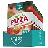Best Body Nutrition Fit4Day Protein Pizza Backmischung, 8 x 250 g